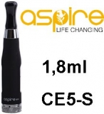 ASPIRE CE5-S BDC CLEAROMIZER 1,8OHM 1,8ML