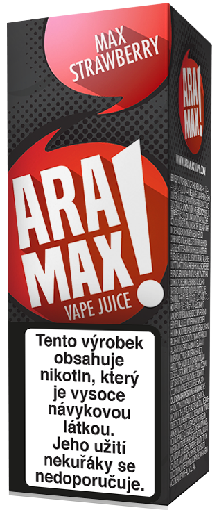 LIQUID ARAMAX MAX STRAWBERRY 10ML