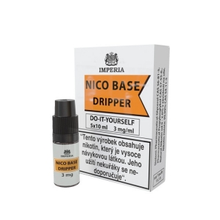NICO BASE DRIPPER VPG 70/30 5x10ml - 3mg nikotinu/ml