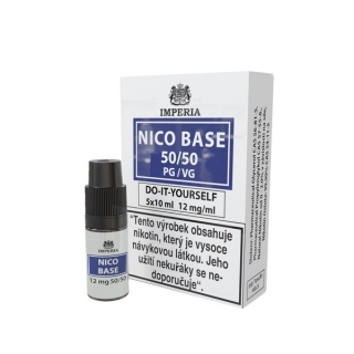 NICO BASE DRIPPER VPG 70/30 5x10ml - 12mg nikotinu/ml