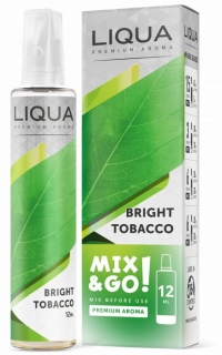 LIQUA MIX&GO 12ML BRIGHT TOBACCO